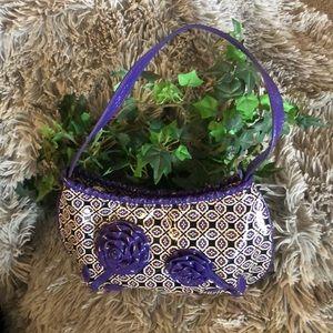 Vera Bradley Small Purse w/flowers